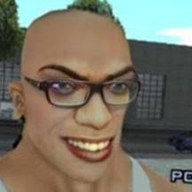 White Feminist Carl Johnson (from GTA San Andreas) : PewdiepieSubmissions