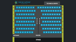 Seating Charts Musicalfare Theatre Amherst Ny