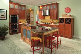 cosy kitchen hutch cabinets marvelous inspiration.  Kitchen Wonderful Kitchen Ideas With Brown Merillat Cabinets Plus Oven And Sink  Chandelier Throughout Cosy Hutch Marvelous Inspiration E