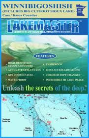 Lakemaster Charts Amazon Com Lakemaster Lpmnwip12 03 Paper Map Winnibigoshish