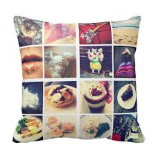 create a pillow. Plain Create Create Your Own Instagram Throw Pillow On A U