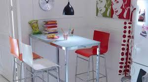 Exemple Deco Cuisine Table Haute Photo Déco