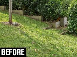 how to build a retaining wall in the backyard before