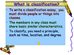 classification essay writing  classifying essay wise tips for writing what kind of essays 2 what is classification