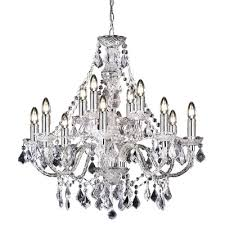 latest endon lighting chandeliers inside endon lighting 12 light crystal chandelier view 7 of 10