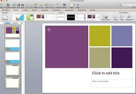 How To Import Powerpoint Template Mac Os Applying Themes In