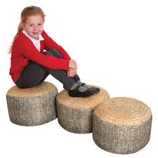Tree Stump Seats Tree Stump Seats 3 From Early Years Resources Uk