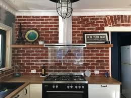 Red Brick Tiles Kitchen Brick Veneer Old Red Brick Co