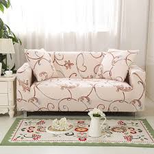 armchair covers. Flower Design Elastic L Shaped Sofa Cover Loveseat Universal Stretch Funda Sectional Armchair Covers 1 R