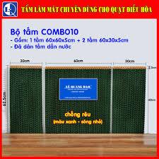Bộ tấm làm mát quạt điều hòa COMBO10 - sóng nhỏ - Đã dán miếng dẫn nước,  giá tốt nhất 350,000đ! Mua nhanh tay!