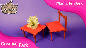 doll furniture recycled materials. DIY Crafts - Recycling How To Make Doll House Furniture With Ice Cream Sticks YouTube Recycled Materials R
