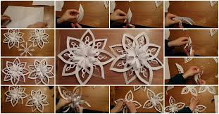 How To Make A 3d Snowflake How To Make 3d Snowflakes Tutorial Usefuldiy Com