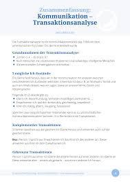 Menschliche Kommunikation Verstehen Die Transaktionsanalyse