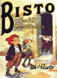 High Quality Bisto   Vintage Poster   8 X 6 Steel Sign
