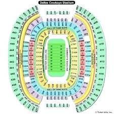 Dallas Cowboys Seating Chart Dallas Cowboys Seating Chart Virtual Deftgrrrl Co