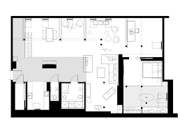 Apartment Plan Loft Style Floor Stupendous Office Attic Converted Original  Wood Brick Into