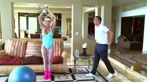 Brandi Love Keiran Lee Shake his Dick Big Tits In Sports.