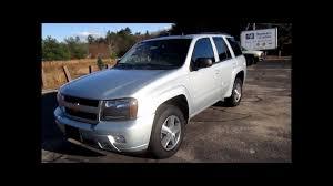 2007 Chevrolet Trailblazer LT Start Up, Engine & Review - YouTube