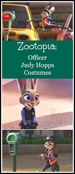 zootopia officer judy hopps costumes ready made or diy ideaas