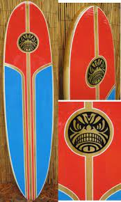 wave thrasher surfboard wall art