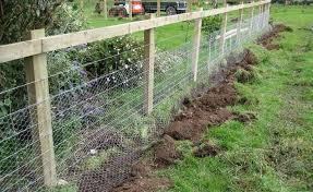 Small Picture How To Build A Simple Garden Fence Youtube Youtube best 25