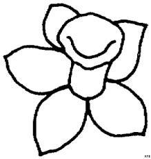 Kleurplaat Lente Tulp Blumen Und Pflanzen Kleurprenten Seite