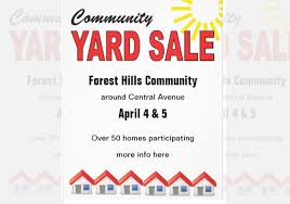 Garage Sale Flyers Free Templates Free Community Yard Sale Flyer Template Sportsbuffpub Com