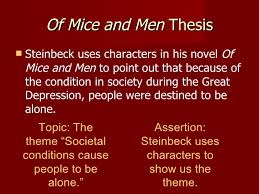 essays a 6 of mice and men