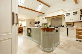 free standing kitchens for numbered blue kitchen cabinets and roilling ladder in dorset farmhouse by