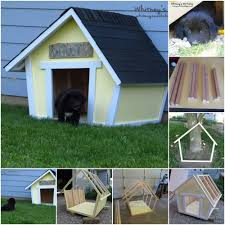 Brilliant DIY Dog Houses With Free Plans For Your Furry    Crooked Fun   Brilliant DIY Dog Houses With Free Plans For Your Furry Companion