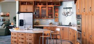Thomasville Cabinetry - Cottage Cherry - Light - Reeded Glass ...
