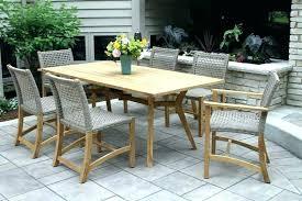 wood patio furniture sets