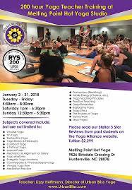 huntersville yoga teacher january 2018
