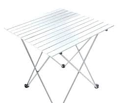 white folding table small