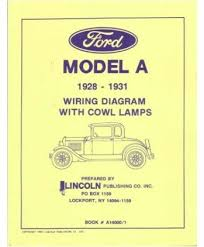 amazon com 1928 1929 1930 1931 ford model a wiring diagrams automotive