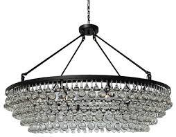 celeste extra large crystal chandelier black 10 lights