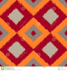 Bed Sheet Design Texture Ikat Brown Seamless Pattern Curtain Textile Design Bed
