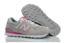 new balance pink shoes. women\u0027s new balance 574 retro grey/pink shoes wl574exp pink