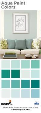 aqua paint colors80 best Aqua Paint Colors images on Pinterest  Olympic paint