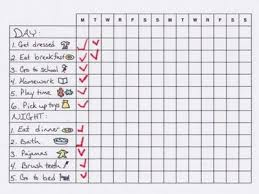 Kids Daily Routine Chart Daily Routine Chart For Kids And Perhaps Some Mamas