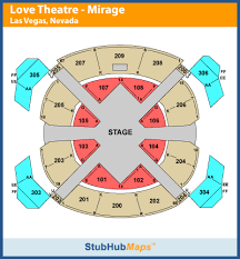 Cirque Du Soleil Mgm Seating Chart