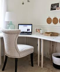 Ikea office table tops Solid Wood Neginegolestan Table Linnmon Alex Beige White Office Space Ikea