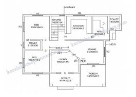 40000 square foot house plans 4 bedrooms double floor kerala home design 1820 sq ft 4