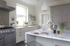white kitchen lighting. Kitchen Pendant Drop Lights Above White Stand Mixer From Kitchenaid Home Appliances With Stainless Steel Mixing Lighting