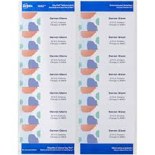 Avery Address Lables Avery Easy Peel Address Labels With Sure Feed Technology Mac