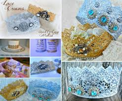 Crochet Crown Pattern Interesting Wonderful DIY Crochet Sweet Newborn Crown
