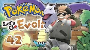 POKEMON LET'S GO EVOLI 🌏 #42: Pokémon-Labor, Fossil-Pokémon und Pokémon-Villa  auf der Zinnoberinsel - YouTube