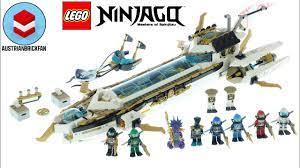 LEGO Ninjago 71756 Hydro Bounty - Lego Speed Build Review - YouTube