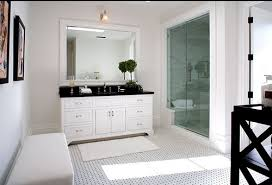 white bathroom cabinets with dark countertops. white bathroom cabinets dark countertops meridith baer staged home master bath shower marble subway tile with m