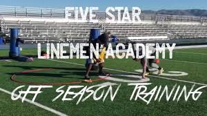 off season football defensive line workout 1 five star linemen academy